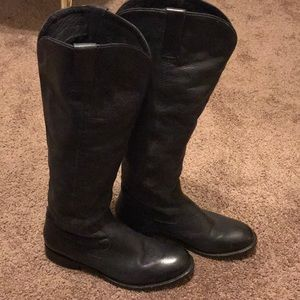 DV by Dolce Vita Black Leather Boots